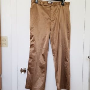 GAP bronze satin pants